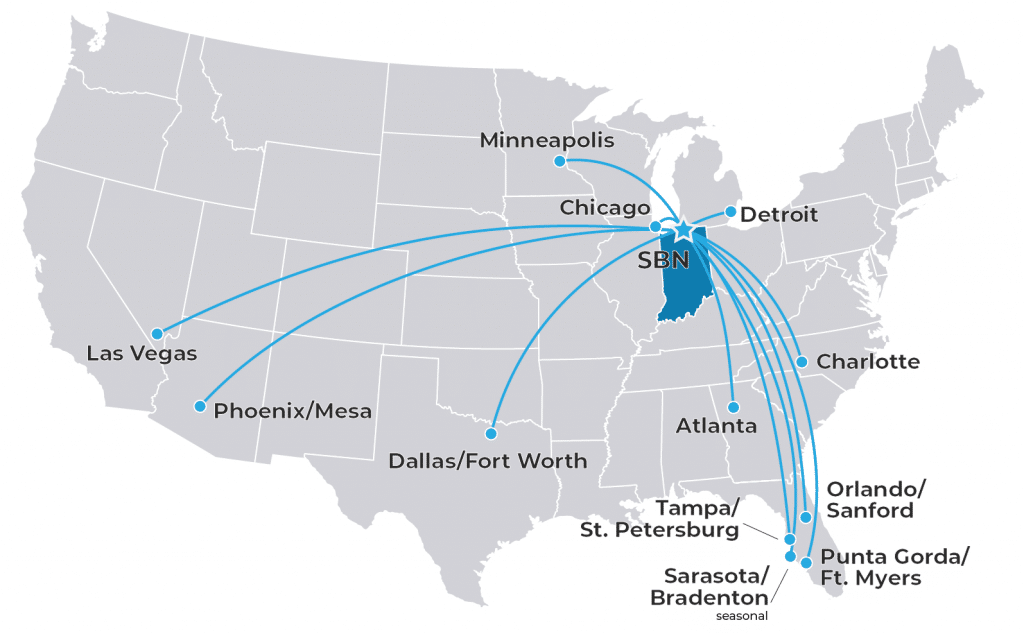 SBN Route Map